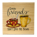 Food and Drink Rubber Stamps