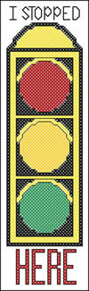 Traffic Light Bookmark- 18 Count Bookmarks