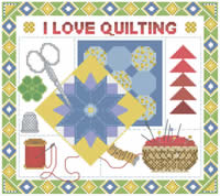 Love Quilting Mousepad