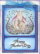 Mother Bunny Card